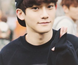 asian boy, Chen, and exo image