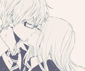 manga, hibi chouchou, and kiss image