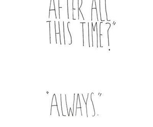 always, harry potter, and quotes image