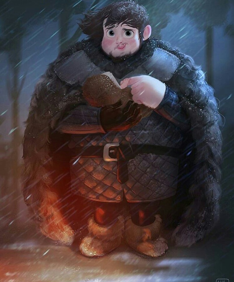 fan art, Sam, and the night's guard image
