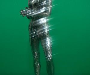 art, futuristic, and green image