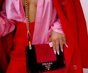fashion, Prada, and pink image