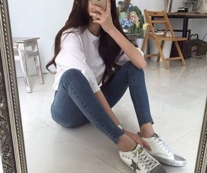 girl, ulzzang, and style image