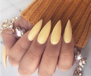 acrylic, nail goals, and beauty image