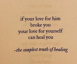 healing, positivity, and self love image