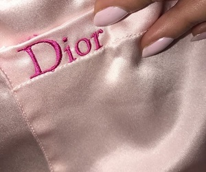 aesthetic, dior, and pink image