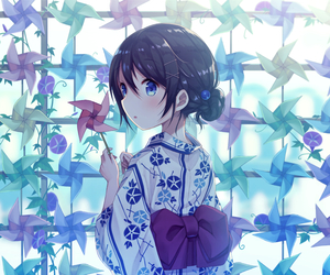 wallpaper, anime girl, and background image