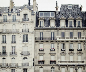 building, house, and paris image