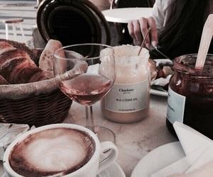 food, coffee, and wine image