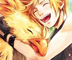 chocobo, final fantasy xv, and prompto image