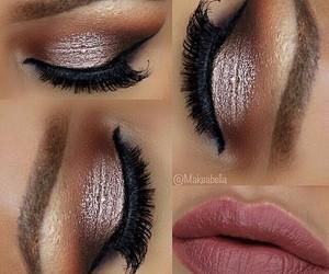 beauty, eyeshadow, and lashes image