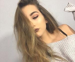 beauty, makeup, and photos image