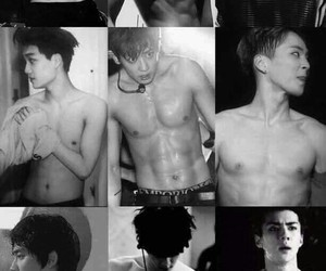 exo, kpop, and kpop abs image