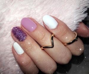beautiful, nails, and pink image
