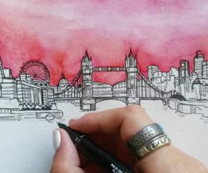art, doodles, and fine liner image