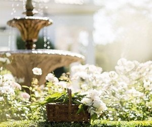 estate, fountain, and gorgeous image