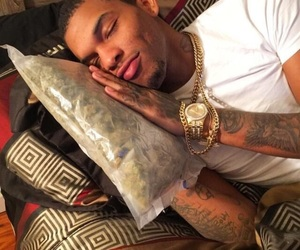 chains, weed, and dimple image