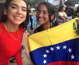 venezuela and dualipa image