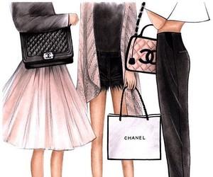 chanel, fashion, and art image