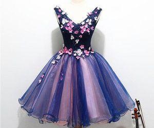 v-neck homecoming dress and short homecoming dress image