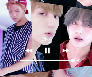 bts, DNA, and kpop image