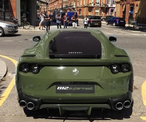 car, cars, and ferrari image