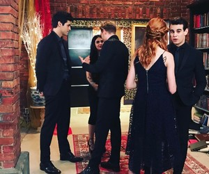 cast, the mortal instrumens, and shadowhunters image