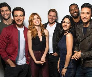 shadowhunters, emeraude toubia, and alberto rosende image