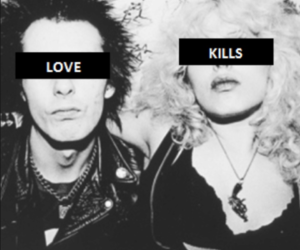 love kills, sid vicious, and love image