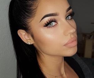 makeup, tumblr, and beauty image
