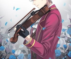 mystic messenger, unknown, and anime boy image