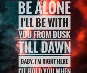 background, Lyrics, and song image
