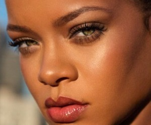 makeup, rihanna, and fenty image