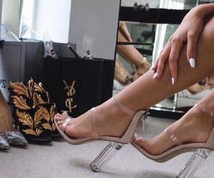 chic, luxe, and shoes image