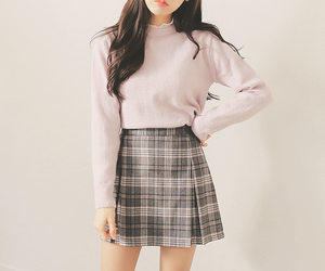 fashion, outfit, and k-fashion image