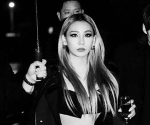 black and white, CL, and chaerin image