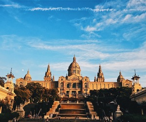 Barcelona, spain, and montjuic image