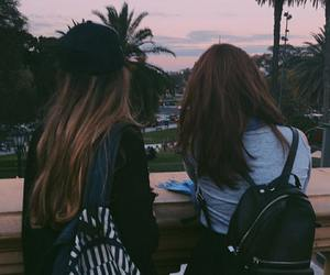 aesthetic, friendship, and girl image