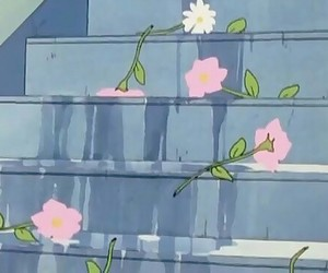 anime, flowers, and aesthetic image