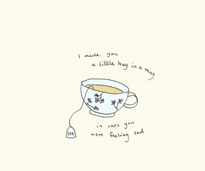 tea, art, and quotes image