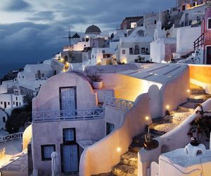 atmosphere, Greece, and lights image