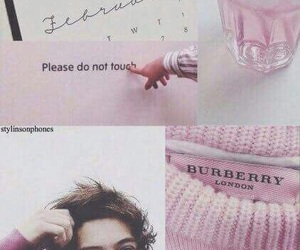 Harry Styles, pink, and lockscreen image