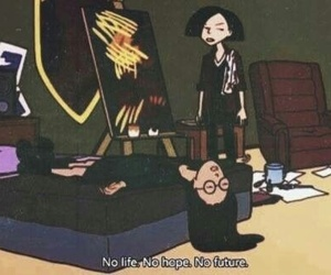 Daria, grunge, and life image