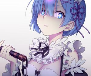 rem, anime, and re:zero image