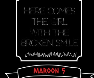 maroon 5, quotes, and she will be loved image