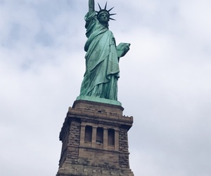 be free, new york, and statue of liberty image
