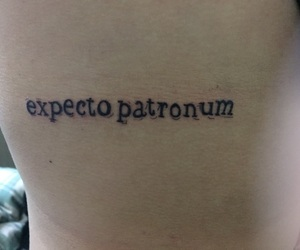 expecto patronum, frases, and harry potter image