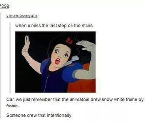 funny, lol, and snow white image