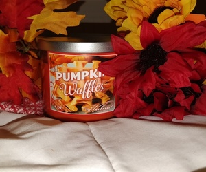 autumn, candle, and decor image