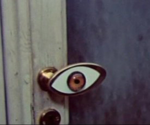 doorknob and eye image